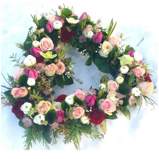 Ljuvlig hjärta till begravning