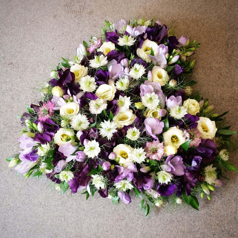 Sommarvind hjärta till begravning