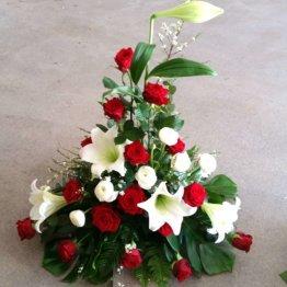 SAKNAD begravningsblommor