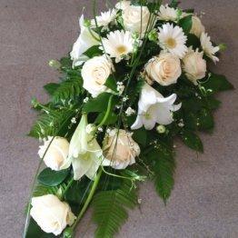 PÄRLEMOR begravningsblommor