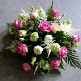 sov gott blommor till begravning