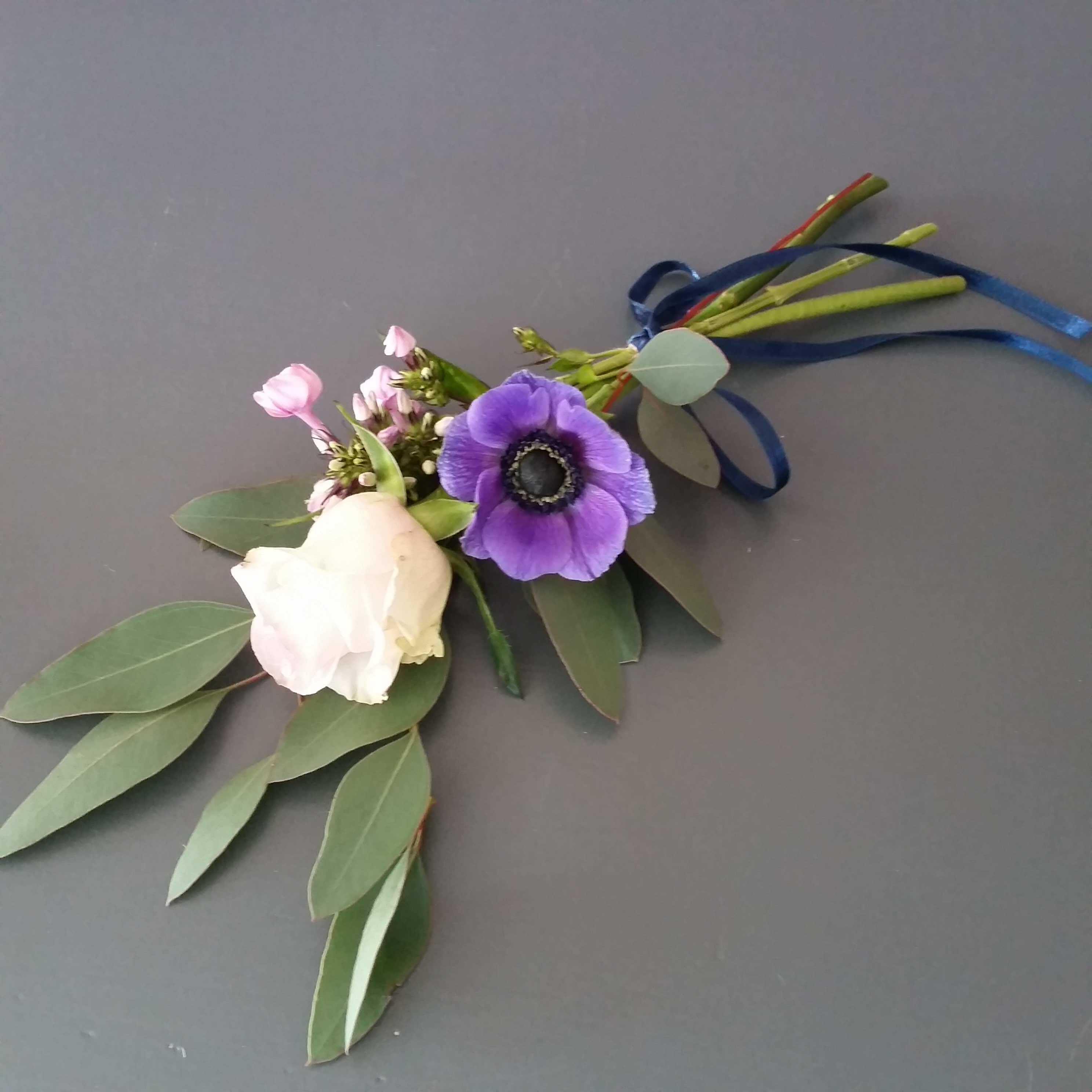 handblomma vid begravning