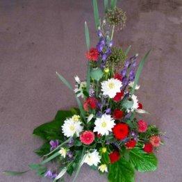symfoni sorgdekoration till begravning