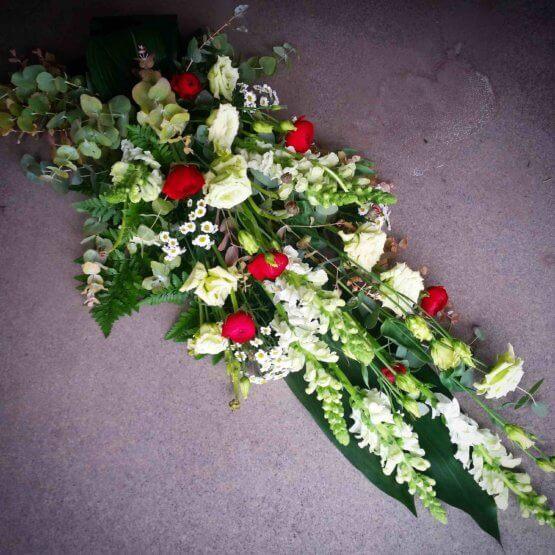 Sempre begravningsbukett