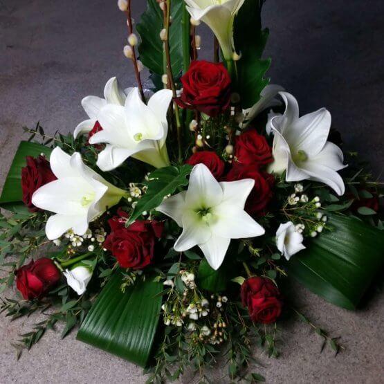 carpe diem begravningsbukett