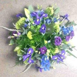 Iris begravningsblommor