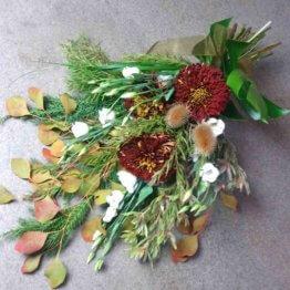 BRONS begravningsbukett