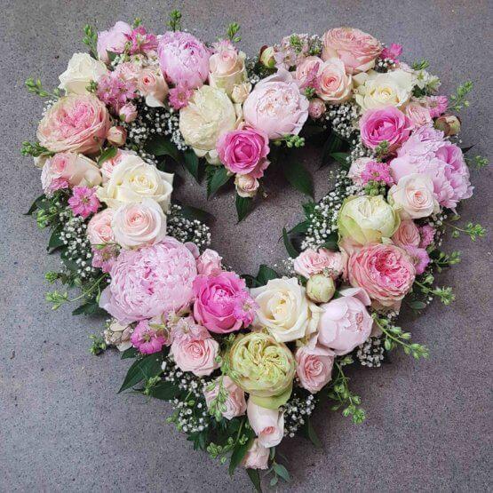 Blomsterhjärta TILL DIG