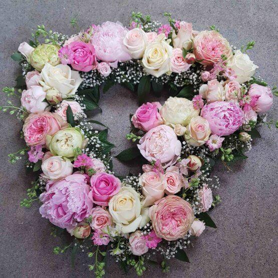 TILL DIG blomsterhjärta
