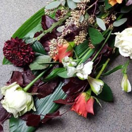 ART DECO begravningsbukett