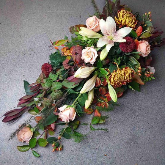 blommor till höstbegravning