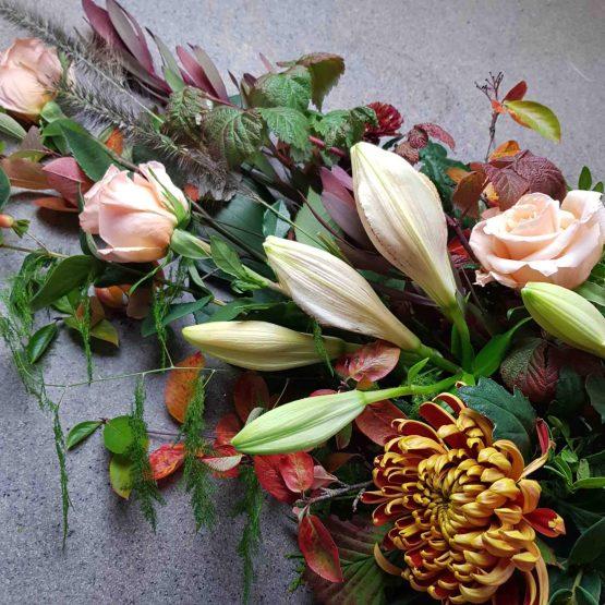 virtuos begravningsdekoration
