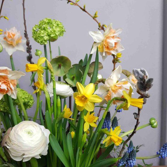 miljövänliga påskblommor till begravning