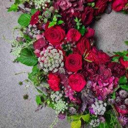 krans till begravning