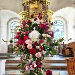 hopp och kärlek Urnkrans