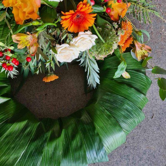 Trollbäcken krans till begravning