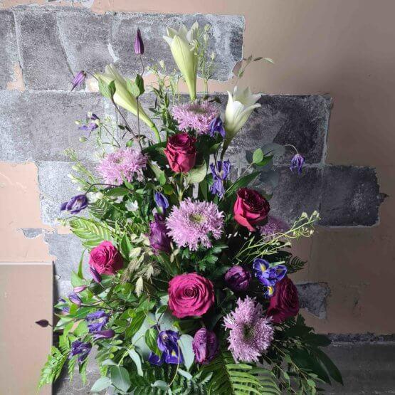 begravningsblommor miljö