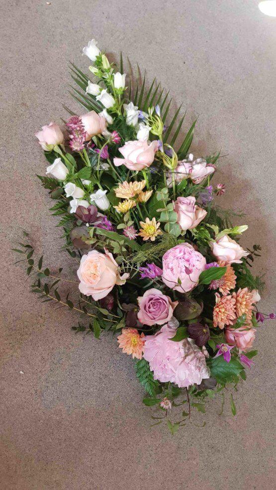 begravningsblommor pion